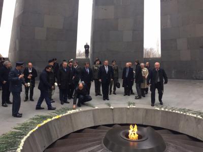 Θρίαμβος της Ελλάδας στην Αρμενία με την επίσκεψη του Πάνου Καμμένου
