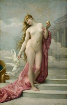 Naissance de Venus (Η γεννηση της Αφροδίτης) is a painting by the French artist Alexandre Cabanel (1823–1889). It was painted in 1863, and is now in the Musée d'Orsay in Paris.