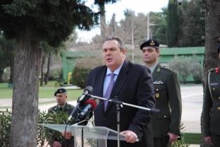 Ο Πάνος Καμμένος εγκαινίασε διαμερίσματα στέγασης για τους Στρατιωτικούς (1)