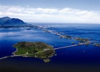 The Atlantic Road-spectacular road in Norway