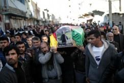 Κηδεία Κούρδου που σκοτώθηκε στις συγκρούσεις με τον στρατό Nusaybin της Τουρκίας AP Photo Cagdas Erdogan