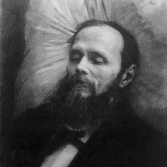 #OnThisDay in 1881, Fyodor Dostoyevsky (Crime and Punishment, The Brothers Karamazov) died of a pulmonary hemorrhage