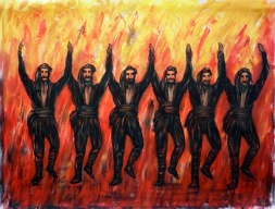 Πυρρίχιος Ο χορός των Θεών, ο χορός των μαχητών Σέρρα