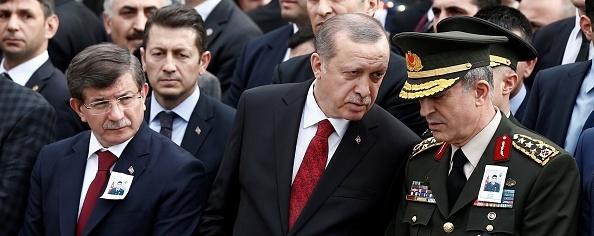Davutoğlu -Erdoğan - General
