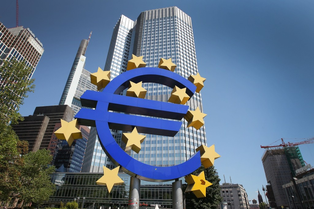 GERMANY-ECB-EU-EUROZONE-BANK-MONEY-FOREX-RATES