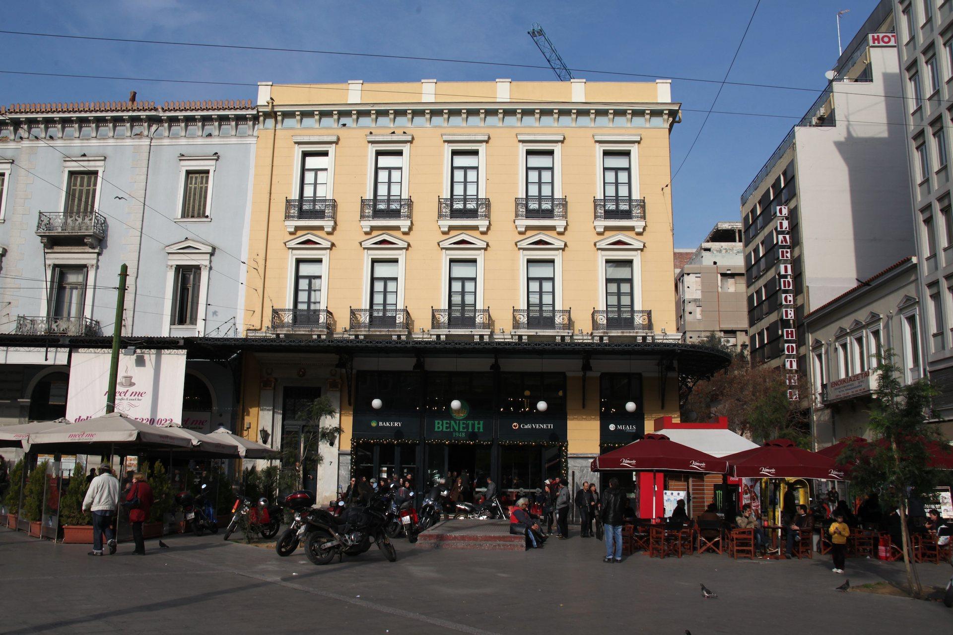 Neon cafe, Venetis Bakery, opening, Καφέ Νέον, εγκαίνια, Βενέτης, φούρνος