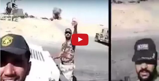 iraqi-soldiers-selfie-as-isis-suicide-truck-is-detonated-mission-liberate-mosul-selfiewars