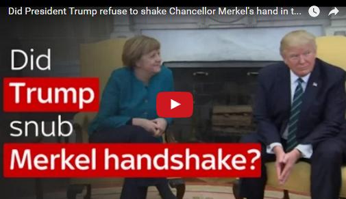 Merkel-Trump