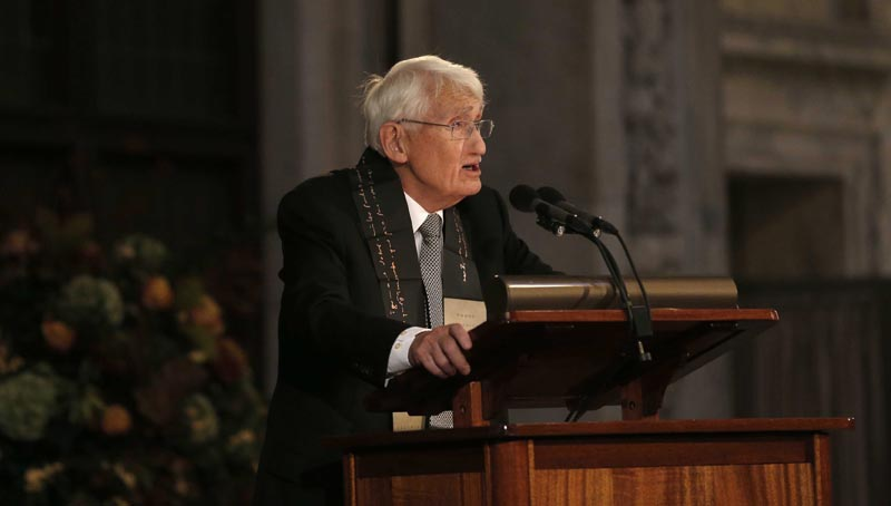 Erasmus Prize ceremony