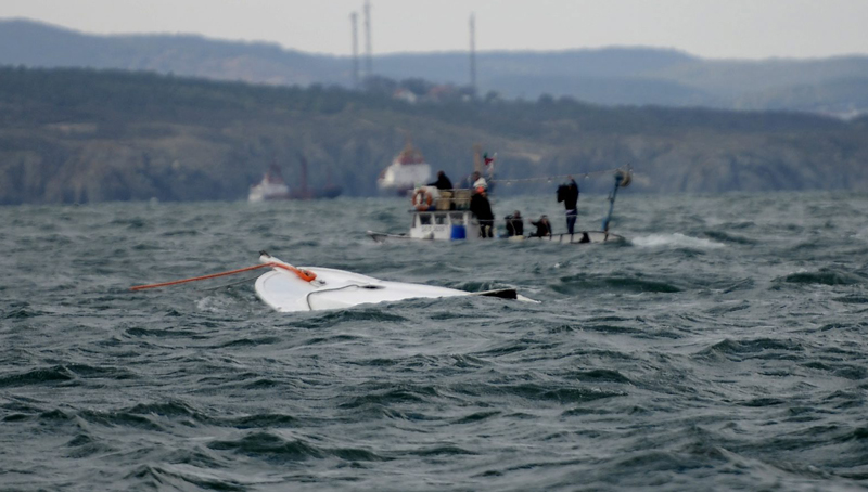 Migrants boating accident in Istanbul