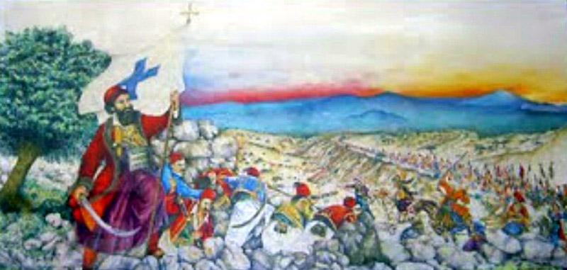 Η Μάχη στο Μανιάκι: 20 Mαΐου 1825 – Ο Παπαφλέσσας περνά στο ...