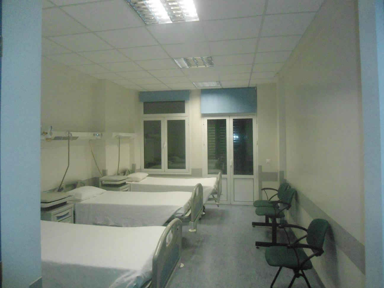 5. Δωμάτιο στην πτέρυγα βραχείας νοσηλείας του Αρεταίειου.