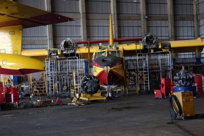 ΑΠΑΝΤΗΣΗ εργαζομένων στα Πλαστά Πρωτοσέλιδα για τις διαθεσιμότητες των Canadair-Μόνον στο Olympia.gr