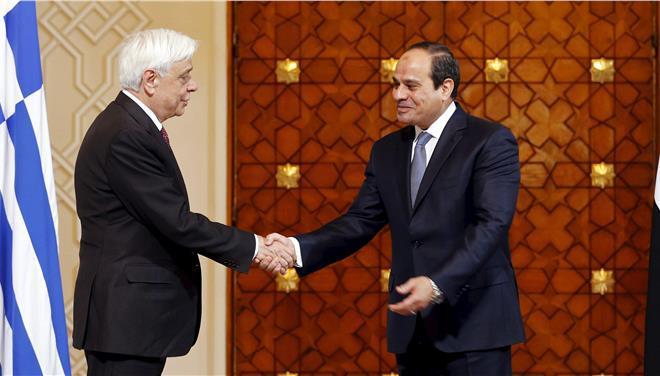 ΑΟΖ Ελλάδα Αίγυπτος: Η αιγυπτιακή προεδρία χαρακτηρίζει «ιστορική εξέλιξη» τηνσυμφωνία