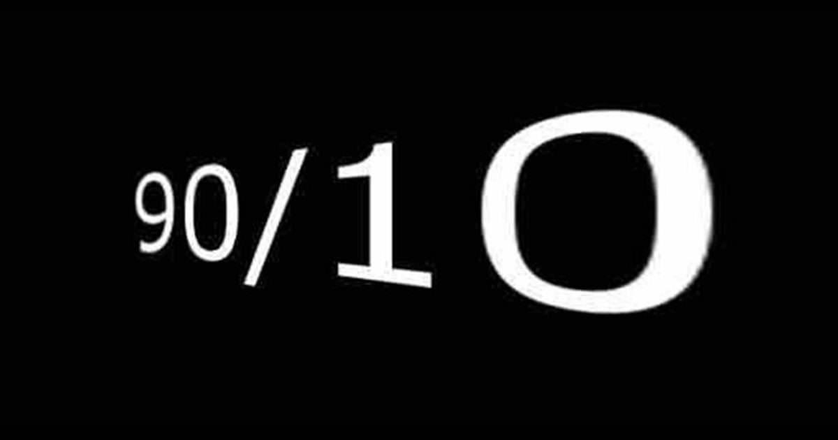 Η αρχή του «90/10» Μπορεί να αλλάξει τη ζωή σας για πάντα και να βελτιώσει τη διάθεσή σας.