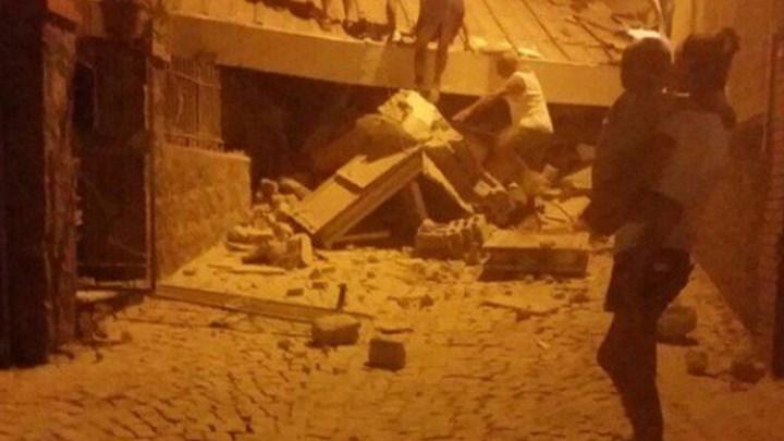 Σεισμός στη νότια Ιταλία – Κατέρρευσε εκκλησία – Πληροφορίες για τραυματίες και αγνοούμενους