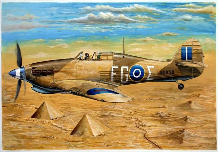 e12e9fc1ab0e8999b7f225f60ced301d-hawker-hurricane-airplane-art
