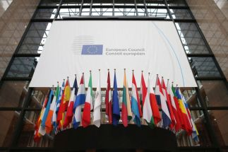 European Leaders Gather In Brussels For EU Crunch Summit