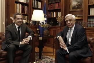 Συνάντηση του Προκόπη Παυλόπουλου με τον Νικολά Σαρκοζί 8