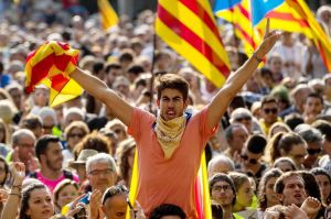 Pro-independence Associations Meet At The Catalan High Court Demanding Release Of Arrested Officials