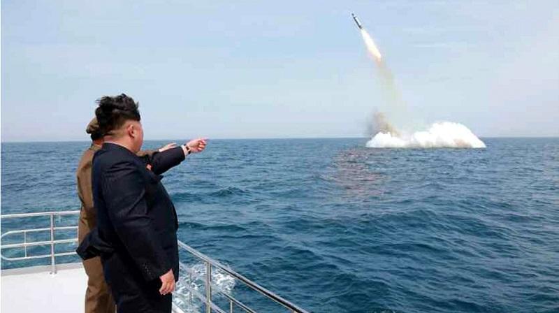 kim yong un sub missile