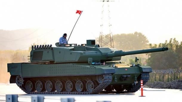 turkish tank