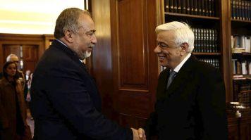 Συνάντηση ΠτΔ Π.Παυλόπουλου-Ισραηλινού ΥΠΑΜ με ΚΑΡΦΙΑ στην γείτονα Τουρκία