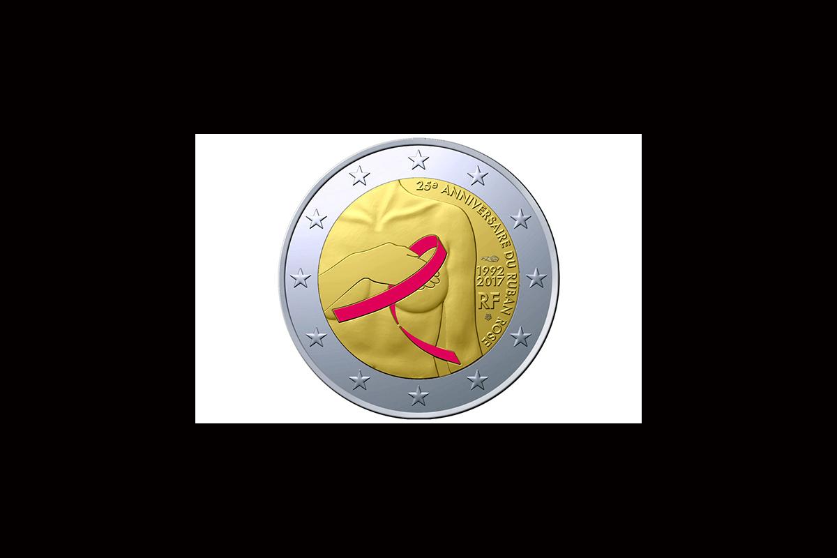 Συλλεκτικό κέρμα των 2 ευρώ στη μάχη κατά το καρκίνου του μαστού