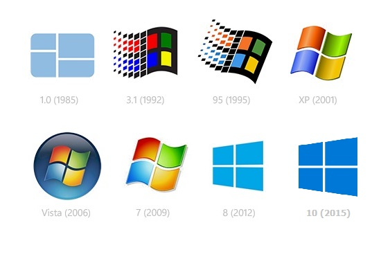 Windows1-10Logos