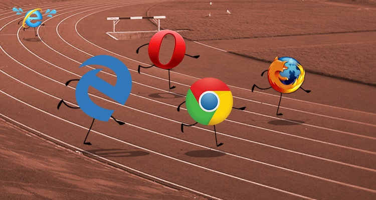 browsers race