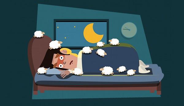 cartoon insomnia