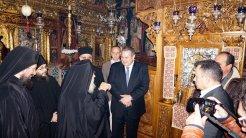 Επίσκεψη του ΥΕΘΑ @PanosKammenos στην Ιερά Μονή Παναχράντου στην Άνδρο (2)