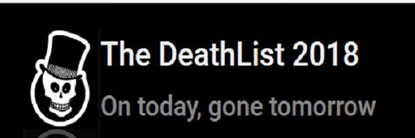 deathlist 2018