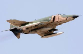 Hellenic Air Force F-4E Phantom II General Electric J-79 turbojet engines with afterburners (14)