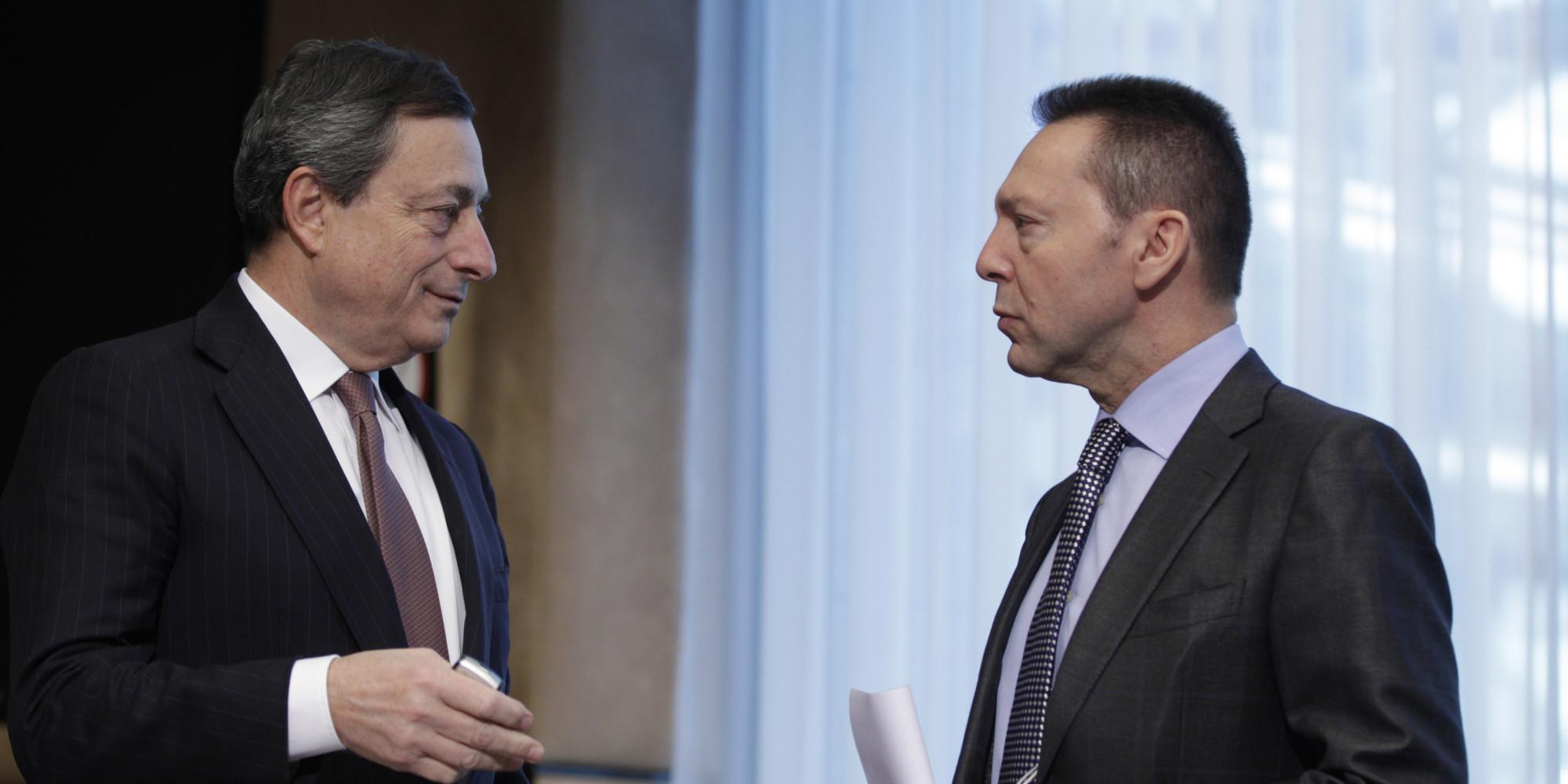 Mario Draghi, Yannis Stournaras