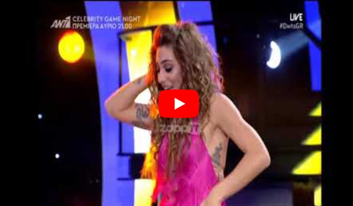 Το ξεφτίλισαν! Το καυτό τσιφτετέλι της Βαλαβανη στο Dancing! #dwts6 #dwtsgr