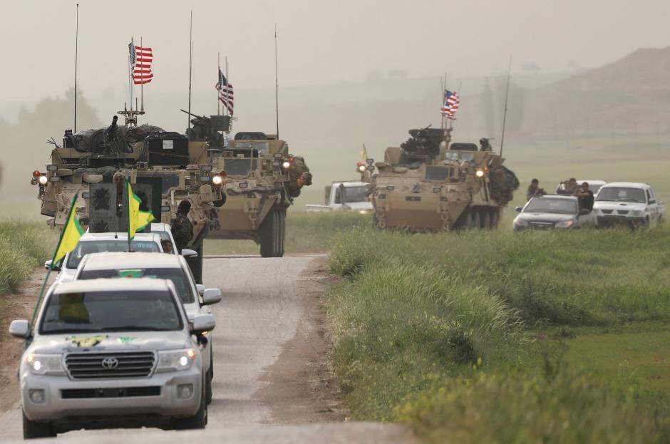 Αποτέλεσμα εικόνας για αμερικανικές δυνάμεις στη Συρία