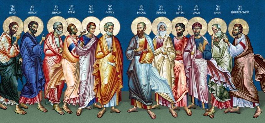 Αποτέλεσμα εικόνας για οι μαθητές του Χριστού