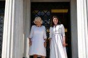Η υπέρλαμπρη Μπέτυ Μπαζιάνα από την χθεσινή επίσκεψη του Πρίγκηπα Καρόλου [ΦΩΤΟΓΡΑΦΙΕΣ] (7) Στο Μουσείο Μπενάκη Καμίλα και Μπέττυ Μπαζιάνα [εικόνες & βίντεο] |