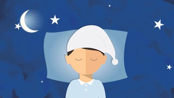 cartoon sleep