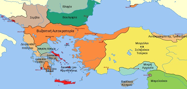 hartis byzantini aftokratoria 1265