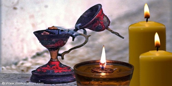 Αποτέλεσμα εικόνας για θα παίρνει 2 κεριά.