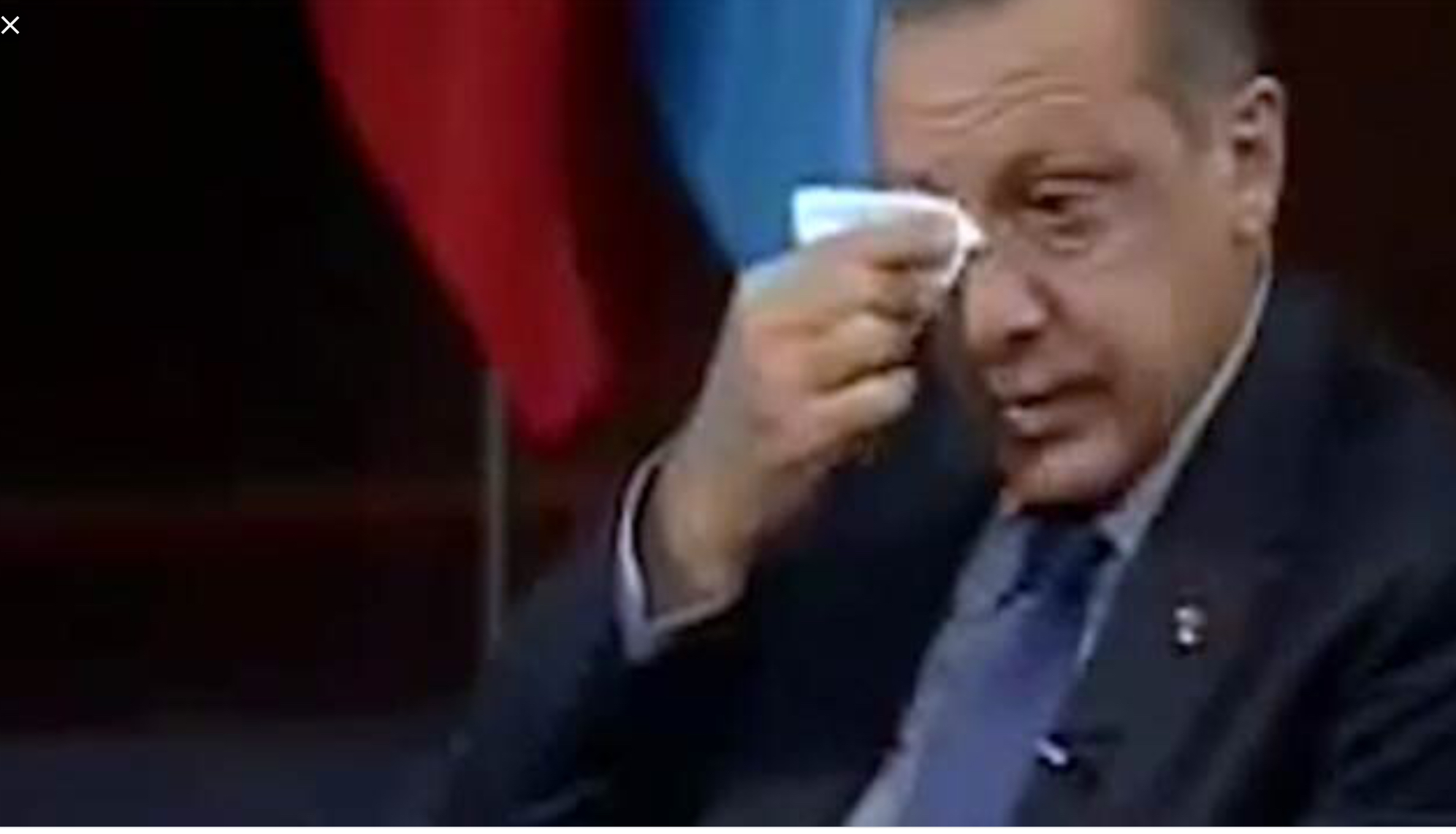 ERDOGAN cry
