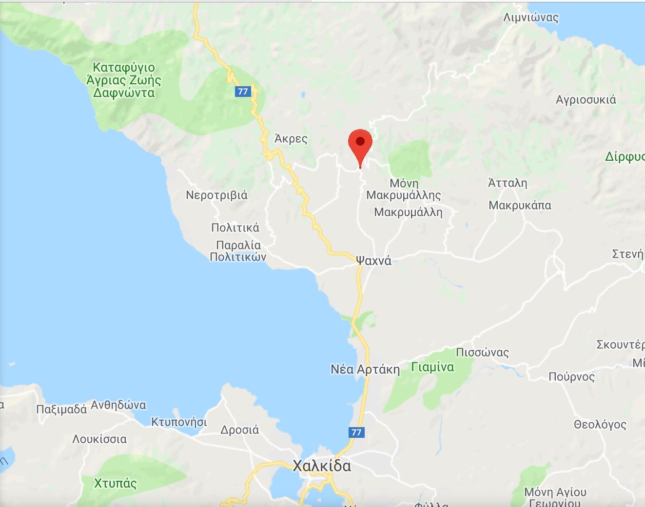 ΤΩΡΑ ΦΩΤΙΑ στην Εύβοια-Εκκενώθηκε το χωριό Κοντοδεσπότιο-Σε συναγερμό Ψαχνά και Πολιτικά