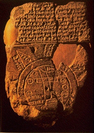ancient map babylon1