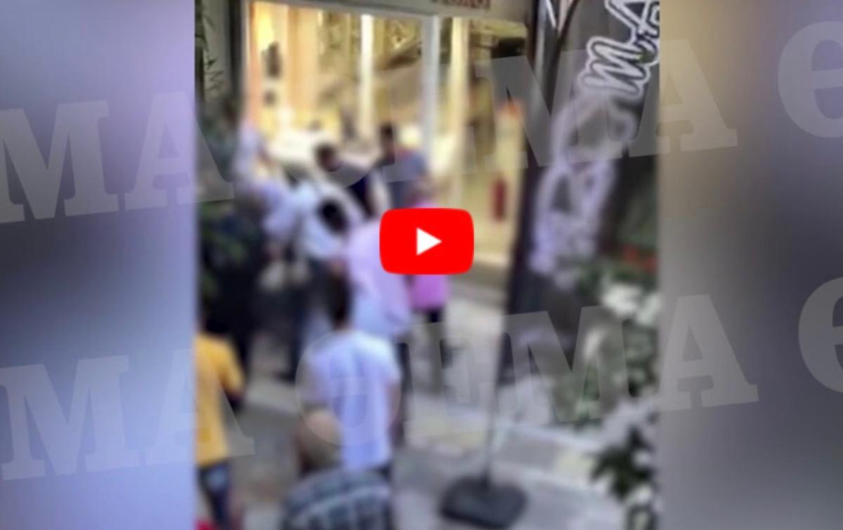Βίντεο από την απόπειρα ληστείας στην Ομόνοια με νεκρό τον δράστη