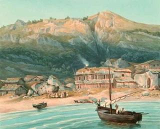 Η ναυμαχία του Κατάκολου στις 30 Σεπτεμβρίου 1821