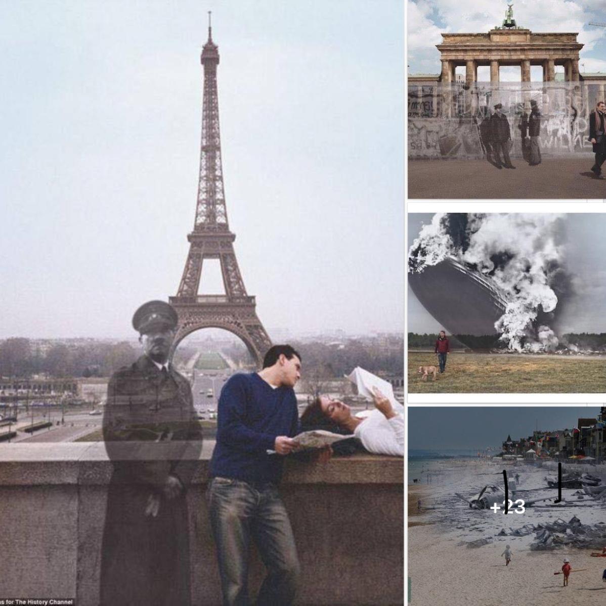 📸Ιστορικές φωτογραφίες και πως είναι σήμερα