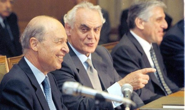 Image result for σημίτης παπαντωνίου τσοχατζόπουλος