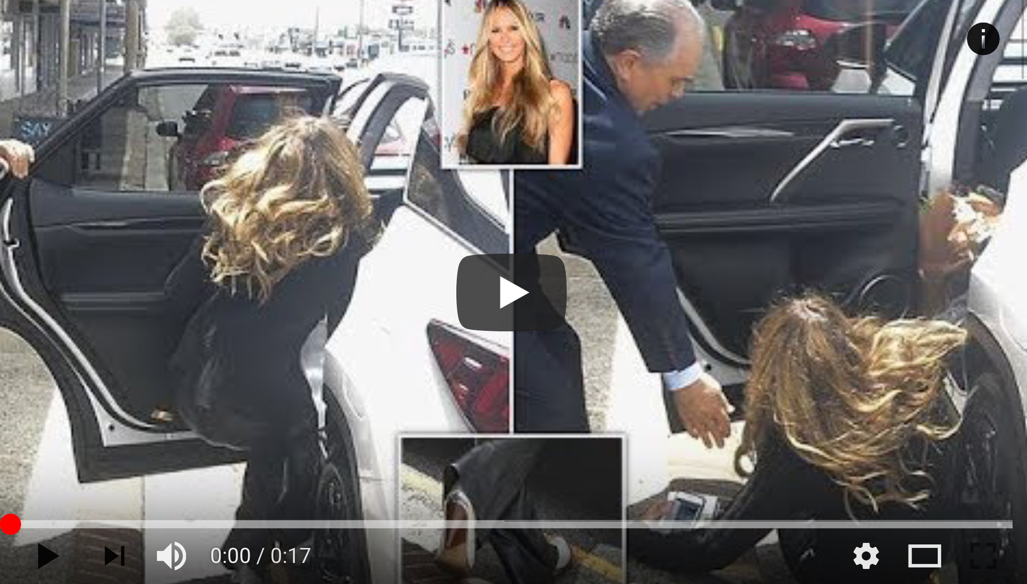 Elle Macpherson suffers a nasty fall in a gutter As one of the world's most revered supermodels, Elle Macpherson has spent her entire career strutting catwalks for designers across the globe. But the 54-year-old proved that no one is immune from the occasional stumble as she suffered a nasty-looking fall outside a Sydney florist on Sunday. The incident occurred after Elle left the shop and attempted to make her way to a parked car outside. source : media-mode.com
